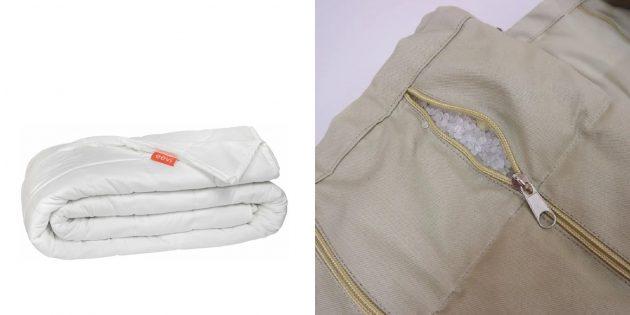 Подарки женщине на 8Марта: утяжелённое одеяло