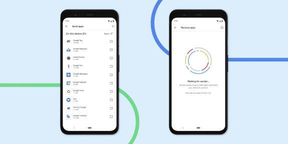 На Android появилась функция обмена установленными приложениями