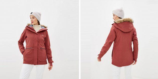 Зимние куртки: горнолыжная куртка