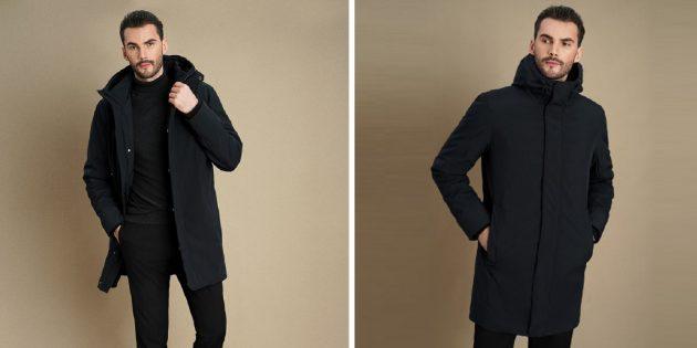 Куртка в минималистском стиле