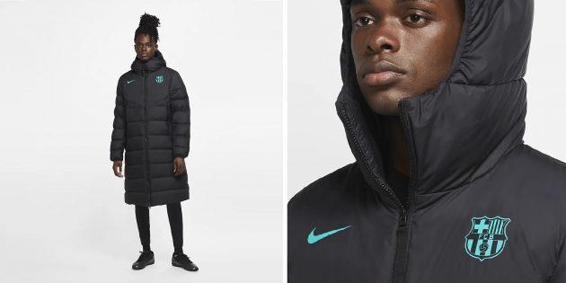 Зимние куртки: футбольная куртка