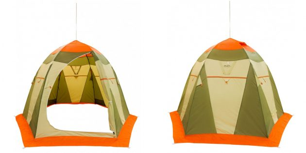 Товары для зимней рыбалки: палатка «Митек Нельма — 3»