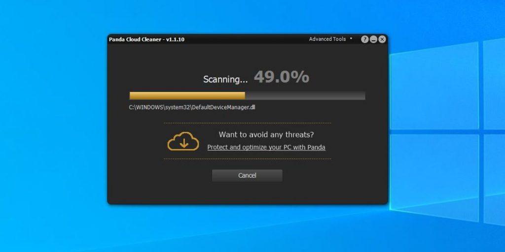 Как проверить на вирусы компьютер: Panda Cloud Cleaner