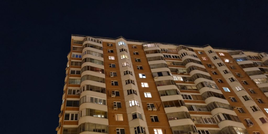 Съёмка ночью на стандартную камеру