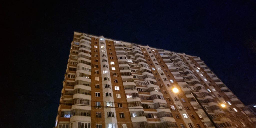 Съёмка ночью на широкоугольный объектив