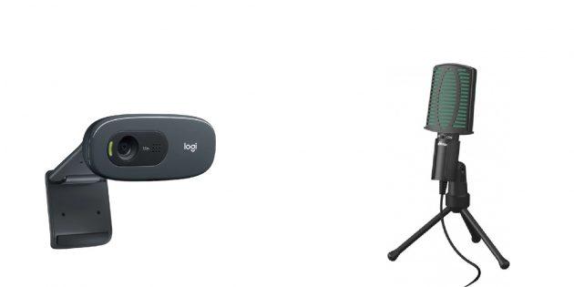Подарки учителю на 8 марта: веб-камера и микрофон