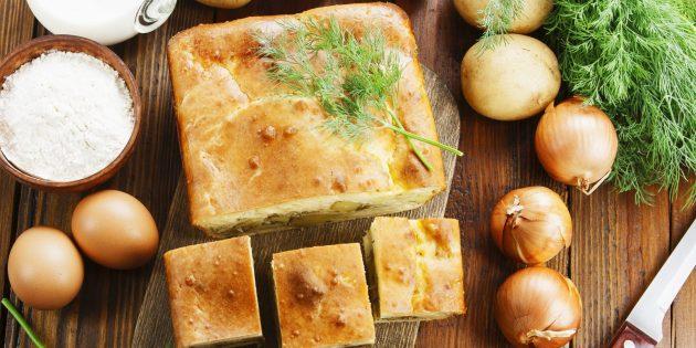 Сытные пироги с картошкой, которые сможет испечь каждый