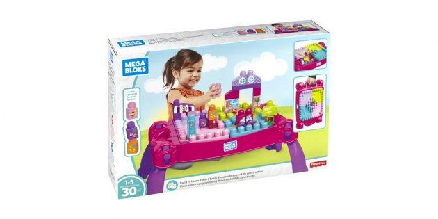 Конструктор Mega Bloks Building Basics