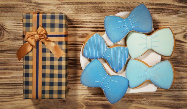 Печенье с глазурью на 23 Февраля