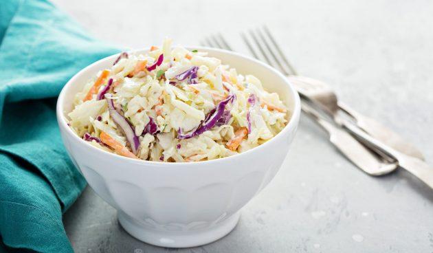 Коул слоу — традиционный американский салат