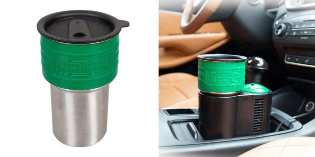 Термосы для напитков и еды: Helfer Active Cup