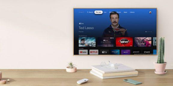 Приложение Apple TV теперь доступно на новом Chromecast, а позже появится на Android TV