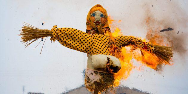 Как праздновать Масленицу и зачем сжигать чучело
