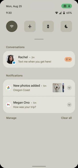 В Сети появились первые скриншоты интерфейса Android 12
