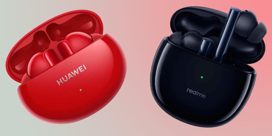 Анонс Huawei FreeBuds 4i и Realme Buds Air 2