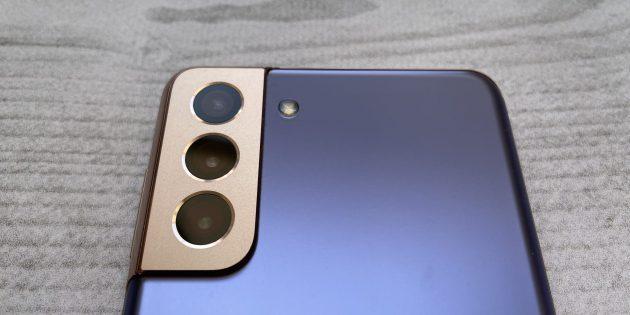 Дизайн Samsung Galaxy S21+