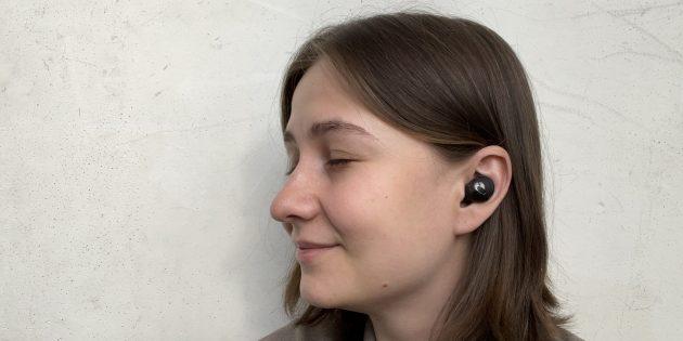 Samsung Galaxy Buds Pro в ушах