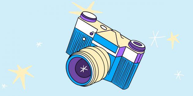 Необычные подарки на 23Февраля: плёночный фотоаппарат