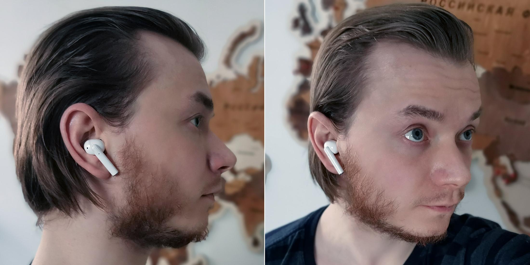 Обзор наушников Realme Buds Air Pro: посадка в ушах