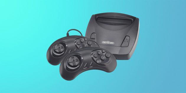 Что купить на 23 Февраля: игровая приставка Retro Genesis 8 Bit Junior