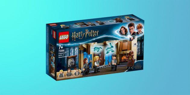 Что купить на 23 Февраля: конструктор LEGO Harry Potter «Выручай-комната»