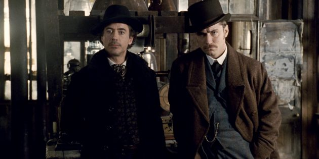 Фильмы в стиле стимпанк: «Шерлок Холмс»