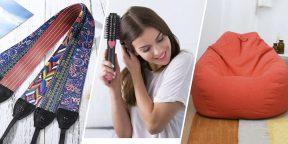Находки AliExpress: фен-расчёска, игрушка-антистресс и карабин