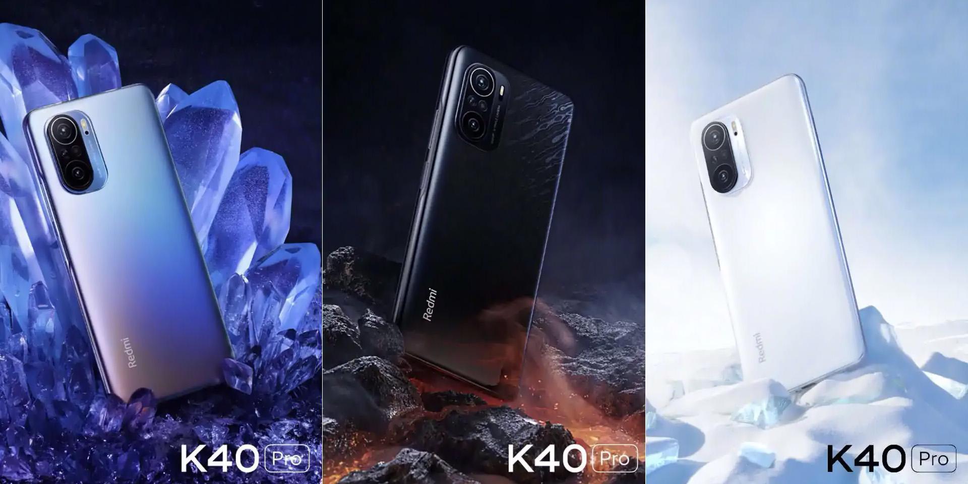 Xiaomi представила доступные флагманы Redmi K40