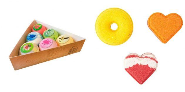 Что подарить подруге на 8 Марта: бомбочка для ванны
