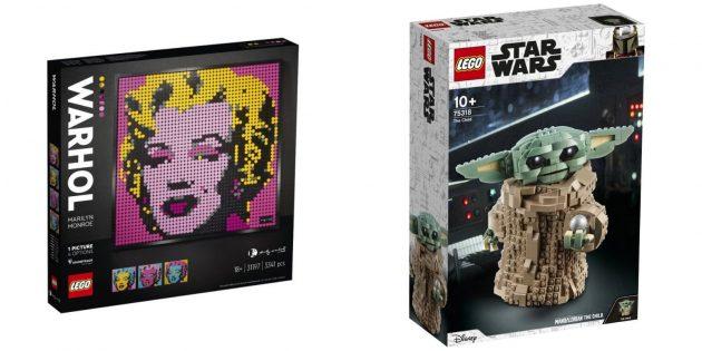 Оригинальные подарки на 8Марта: набор LEGO для взрослых