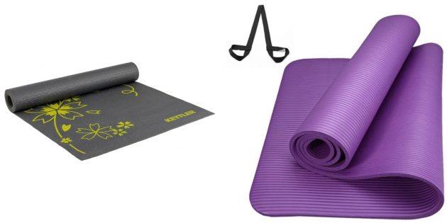 Подарки подруге на 8 Марта: коврик для йоги