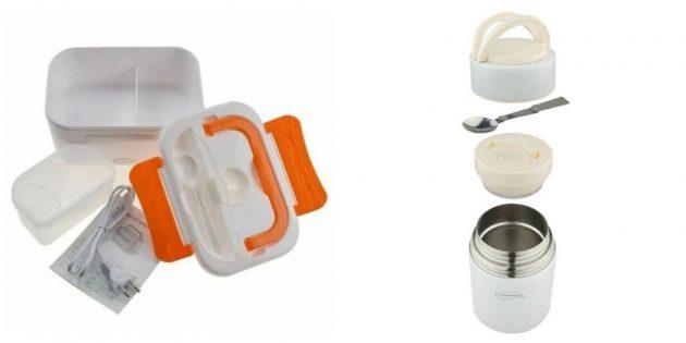 Что подарить воспитателю на 8Марта: ланч-бокс или термос для продуктов