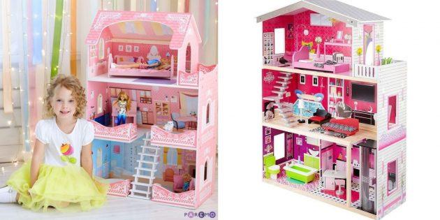 Что подарить дочке на 8 Марта: кукольный домик