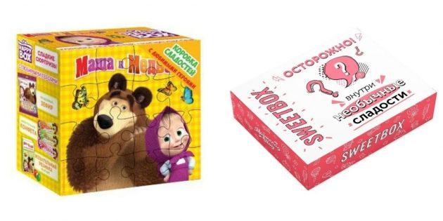 Подарки дочке на 8 Марта: набор сладостей