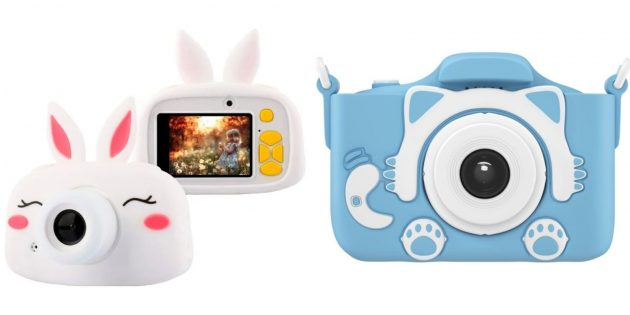 Что подарить дочке на 8 Марта: детский фотоаппарат