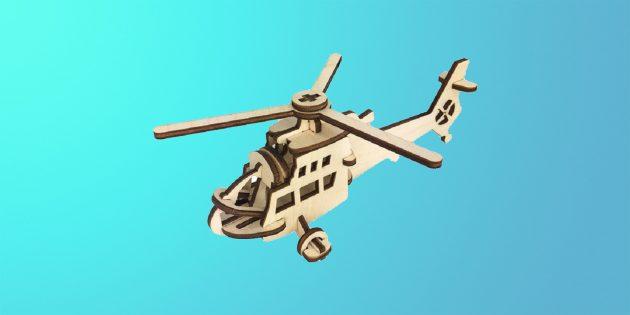 Сборная модель вертолёта