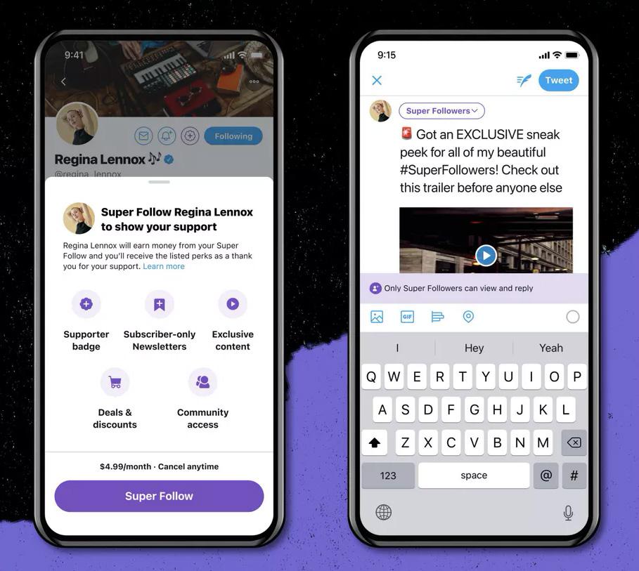 Twitter анонсировал создание сообществ и платную подписку на эксклюзивный контент