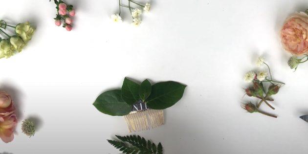 Подарки на 8 Марта своими руками: приклейте листики