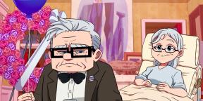 Если бы мультфильм «Вверх» был аниме: официальное видео от Pixar