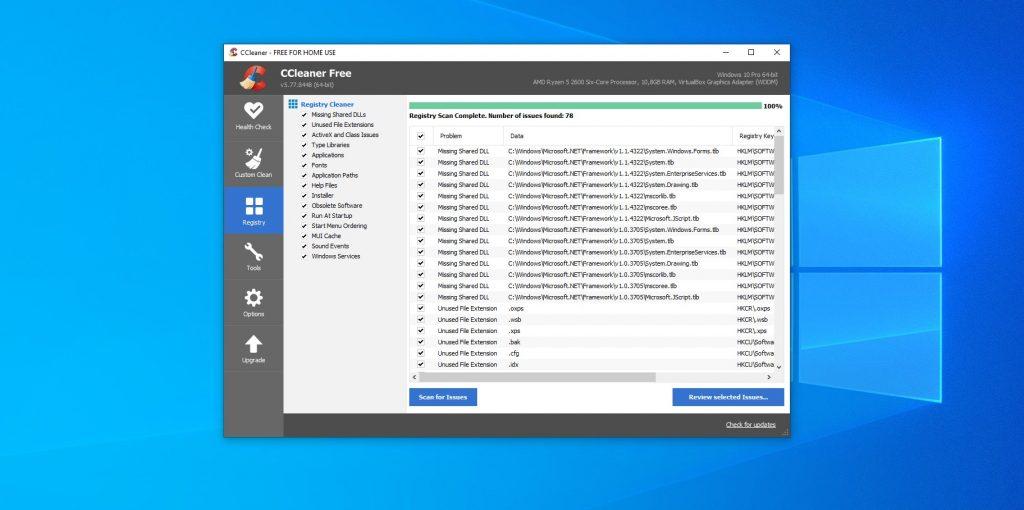 Мифы о Windows: реестр нужно периодически чистить и оптимизировать