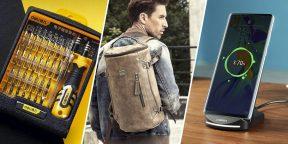 Всё для мужика: смартфон Vivo iQoo, кожаный рюкзак, ремни для переноски