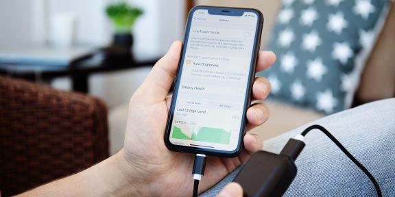Как проверить состояние аккумулятора iPhone и iPad