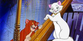 12 очаровательных мультфильмов про кошек