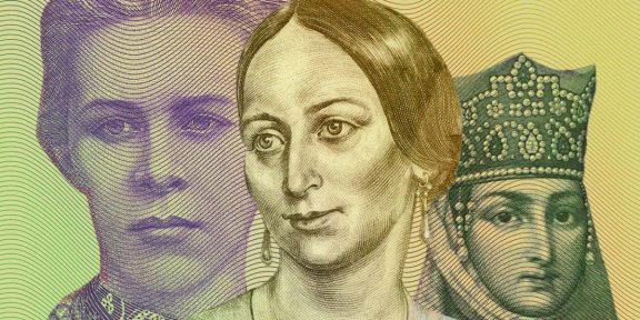 ТЕСТ: Святая или поэтесса — угадаете профессии женщин с банкнот?