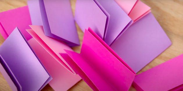 Сверните бумажки