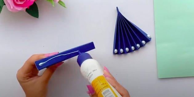 Подарки на 8Марта своими руками: склейте оба веера