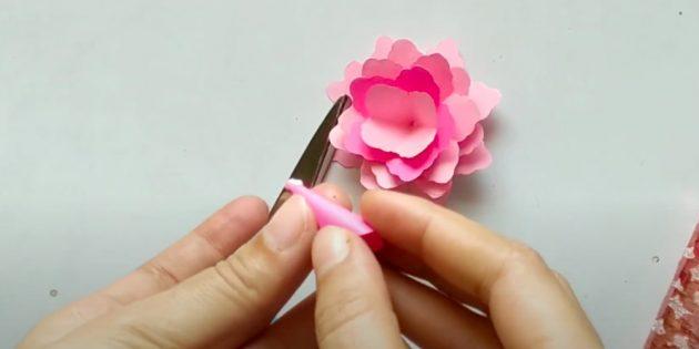 Поделки на 8Марта: соберите цветок