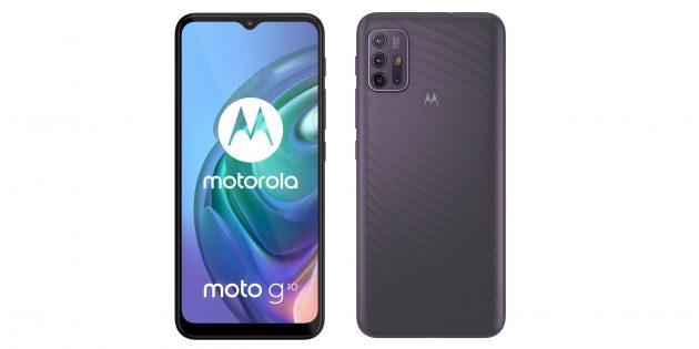 Motorola представила бюджетные Moto G10 и Moto G30