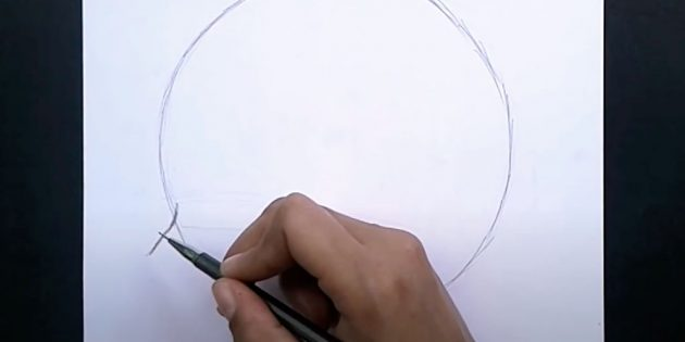 Как нарисовать лицо мальчика: нарисуйте нос