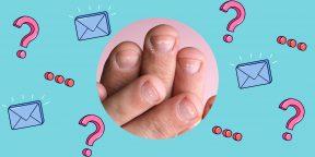 Почему на ногтях появились белые пятна?
